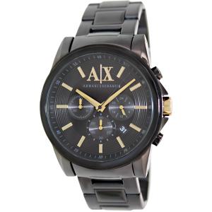 Armani Exchange Men's AX2094 Black Stainless-Steel Quartz Watch