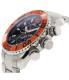 Swiss Precimax Men's Deep Blue Pro II SP12175 Silver Stainless-Steel Swiss Chronograph Watch - Side Image Swatch