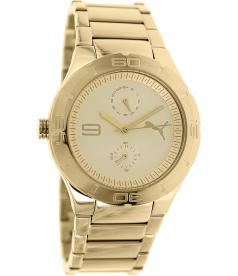 Puma Women's Motor PU102772003 Gold Stainless-Steel Quartz Watch