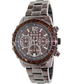 Guess Men's U0016L4 Brown Stainless-Steel Quartz Watch