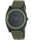 Nixon Men's Time Teller A1191042 Green Polyurethane Quartz Watch - Main Image Swatch