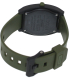Nixon Men's Time Teller A1191042 Green Polyurethane Quartz Watch - Back Image Swatch