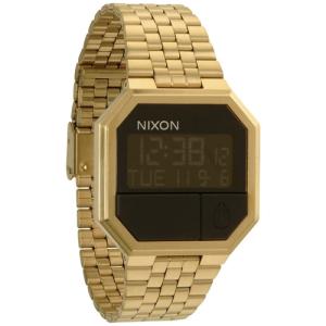 Nixon Men's Re-Run A158502 Digital Stainless-Steel Quartz Watch