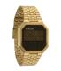 Nixon Men's Re-Run A158502 Digital Stainless-Steel Quartz Watch - Main Image Swatch