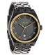 Nixon Men's Monopoly A3251228 Grey Stainless-Steel Quartz Watch - Main Image Swatch
