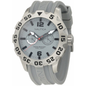 Nautica Men's Sport N16615G Grey Stainless-Steel Quartz Watch