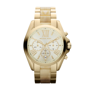 Michael Kors Women's Bradshaw MK5722 White Stainless-Steel Quartz Watch