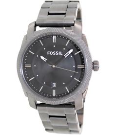 Fossil Men's Machine FS4774 Black Stainless-Steel Quartz Watch