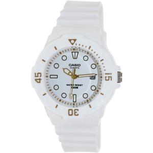 Casio Women's Core LRW200H-7E2V White Resin Quartz Watch