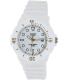 Casio Women's Core LRW200H-7E2V White Resin Quartz Watch - Main Image Swatch
