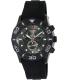 Swiss Military Hanowa Men's Oceanic 06-4196-30-009 Black Silicone Swiss Chronograph Watch - Main Image Swatch