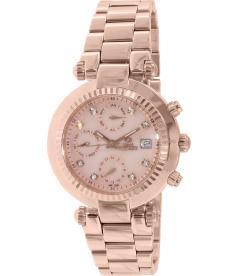 Swiss Precimax Women's Avant SL SP12129 Mother-Of-Pearl Stainless-Steel Swiss Multifunction Watch