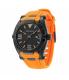 Police Men's Raptor PL.13093JSB/02A Orange Rubber Quartz Watch - Main Image Swatch