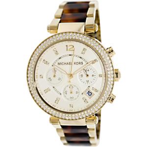 Michael Kors Women's Parker MK5688 Gold Stainless-Steel Quartz Watch