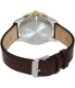 Victorinox Swiss Army Men's 241510 Brown Leather Swiss Quartz Watch - Back Image Swatch