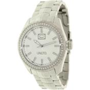 Marc Ecko Men's UNLTD E12521G1 Silver Stainless-Steel Quartz Watch