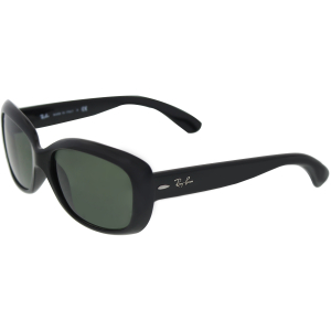 Ray-Ban Women's  RB4101-601-58 Black Rectangle Sunglasses