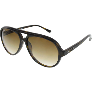 Ray-Ban Men's Gradient Cats RB4125-710/51-59 Tortoiseshell Round Sunglasses