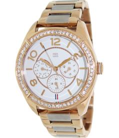 Tommy Hilfiger Women's 1781266 White Stainless-Steel Quartz Watch