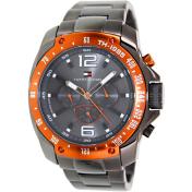Tommy Hilfiger Men's 1790869 Grey Stainless-Steel Analog Quartz Watch