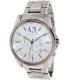 Armani Exchange Men's AX2058 Silver Stainless-Steel Quartz Watch - Main Image Swatch