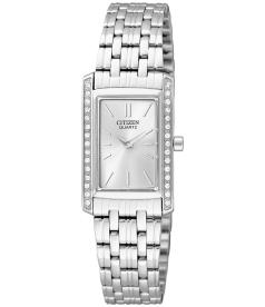 Citizen Women's EK1120-55A Silver Stainless-Steel Quartz Watch