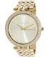 Michael Kors Women's Darci MK3191 Gold Stainless-Steel Quartz Watch - Main Image Swatch
