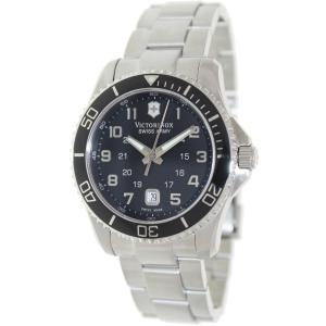 Victorinox Swiss Army Men's 241436 Silver Stainless-Steel Swiss Quartz Watch