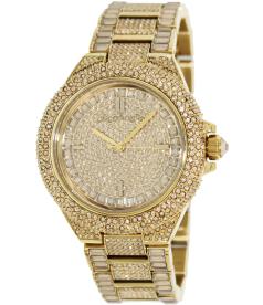 Michael Kors Women's MK5720 Gold Stainless-Steel Quartz Watch