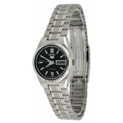 Seiko Women's 5 Automatic SYM607K Black Stainless-Steel Automatic Watch