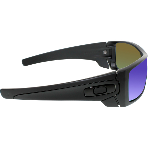 oakley men 39 s mirrored batwolf oo9101 11 black shield sunglasses. Black Bedroom Furniture Sets. Home Design Ideas