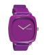 Nixon Women's Shutter A167698 Purple Leather Quartz Watch - Main Image Swatch