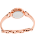 Fossil Women's Georgia ES3226 Rose-Gold Stainless-Steel Analog Quartz Watch - Back Image Swatch