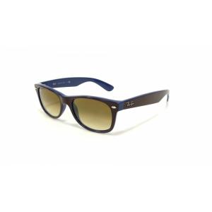 Ray-Ban Unisex Gradient Wayfarer RB2132-874/51-52 Brown Wayfarer Sunglasses