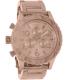 Nixon Men's 42-20 A037897 Rose Gold Stainless-Steel Analog Quartz Watch - Main Image Swatch