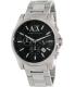 Armani Exchange Men's AX2084 Silver Stainless-Steel Quartz Watch - Main Image Swatch