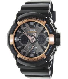 Casio Men's G-Shock GA200RG-1A Black Resin Quartz Watch
