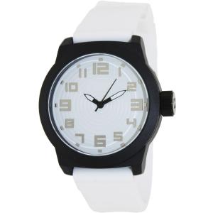 Kenneth Cole Reaction Men's RK1311 White Silicone Quartz Watch
