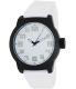 Kenneth Cole Reaction Men's RK1311 White Silicone Quartz Watch - Main Image Swatch