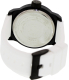 Kenneth Cole Reaction Men's RK1311 White Silicone Quartz Watch - Back Image Swatch