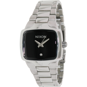 Nixon Women's Small Player A300000 Silver Stainless-Steel Quartz Watch