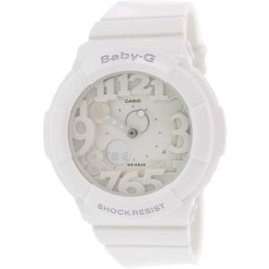 Casio Women's Baby-G BGA131-7B White Plastic Analog Quartz Watch