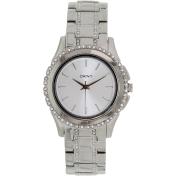 Dkny Women's NY8698 Silver Stainless-Steel Quartz Watch
