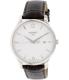 Tissot Men's T063.610.16.037.00 Silver Leather Swiss Quartz Watch - Main Image Swatch