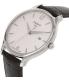 Tissot Men's T063.610.16.037.00 Silver Leather Swiss Quartz Watch - Side Image Swatch