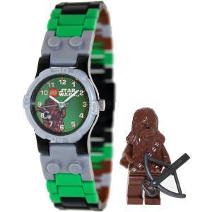 Lego Boy's Star Wars 9001116 Silver Plastic Quartz Watch