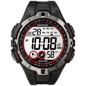 Timex Men's Ironman T5K423 Digital Rubber Quartz Watch