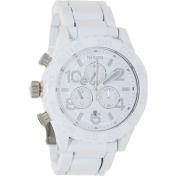 Nixon Men's 42-20 A0371255 White Stainless-Steel Quartz Watch
