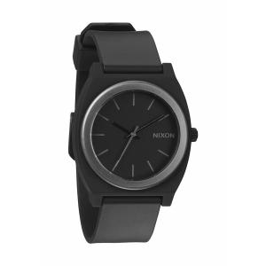Nixon Men's A1191308 Black Polyurethane Quartz Watch