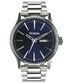 Nixon Men's A3561258 Blue Stainless-Steel Quartz Watch